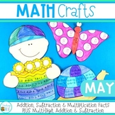 Math Crafts for May