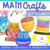 Fall Math Crafts