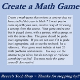 Math Create A Game