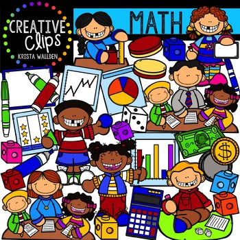 Math {Creative Clips Digital Clipart}