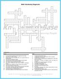 Math Crossword Puzzle Language Diagnostic