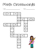 Math Crossword Puzzles (Addition and Subtraction)