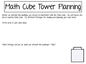 Math Cubes -  Math Challenge Project