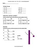 Math Cumulative Review Grade 1 CCSS