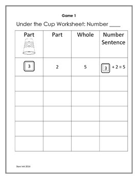 Math Cup Game