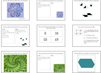 Math Curiosities and Wonders - Math Warm-Ups to Foster Critical Thinking