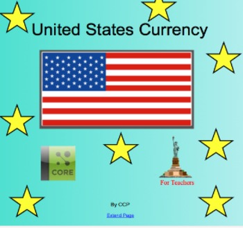 Math Currency Common Core 2.MD.8