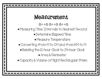 Math Curriculum Bulletin Board-Grade 5