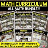 Math Curriculum Bundle (My Entire Math Store) DISTANCE LEA