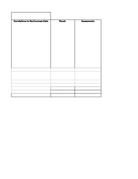 Math curriculum mapping template 2nd grade by b mezera tpt math curriculum mapping template 2nd grade maxwellsz