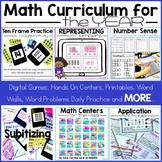Math Curriculum for the Year