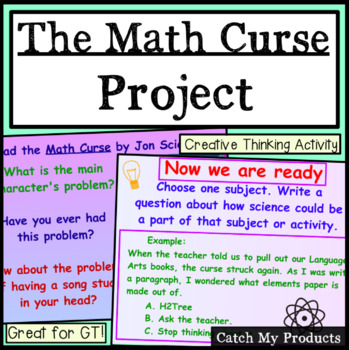 Math Curse - A Project to Accompany Jon Scieszka's Book