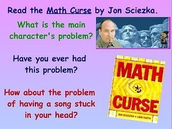 Math Curse - A Project to Accompany Jon Scieszka's Book
