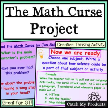 Math Curse - A Project to Accompany Jon Scieszka's Book (Promethean Board)