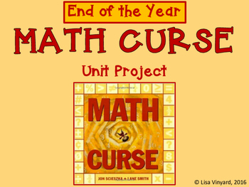 MATH CURSE Task Cards and Activity Packet | TpT