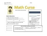Math Curse Mini-Lesson