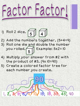 Math DICE Activities: Common Core Math
