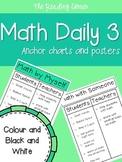 Math Daily 3 Anchor Charts