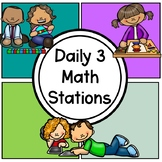 Math Daily 3 Stations