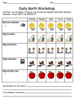 Math Daily 5 Workshop