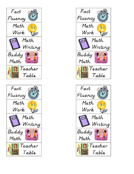 Math Daily Five
