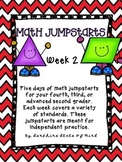 Math Daily Jumpstarts Week 2
