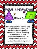 Math Daily Jumpstarts Week 3