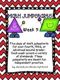 Math Daily Jumpstarts Week 5