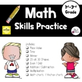 Math Daily Practice / Dry Erase Binder / Number of the day