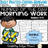 Math Daily Practice {Freebie}