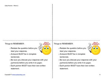 Math Daily Review (4th Grade)