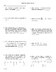 5th Grade Math Daily Review Week 4