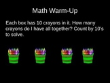 Kindergarten Math Daily Warm-up