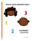 Math Data Binder
