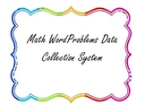 Math Data Collection Tool: For Word Problems