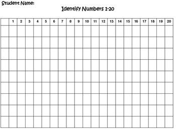 Math Data Sheets