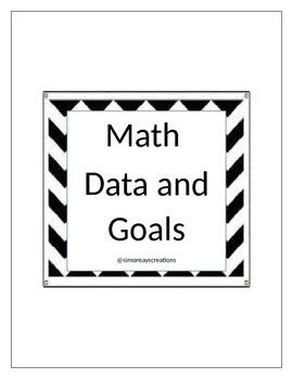 Math Data and Goals 2015-2016