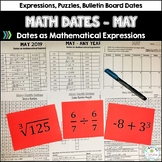 Math Dates and Number Puzzles, May