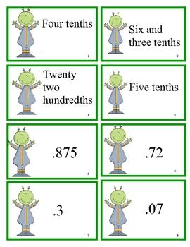 Math Decimal Game