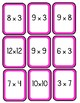 Math Deck of Cards for Multiplication Grades 4-6, Critical Thinking, Challenge