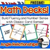 Math Decks! Build Fluency through Card Games (Angle Relati