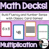 Math Decks! Build Fluency with Card Games (Multiplication)