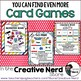 Math Decks! Build Fluency with Card Games (Numbers 0 - 10)