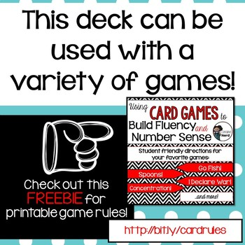 Math Decks! Build Fluency with Card Games (4 Digit Numbers)