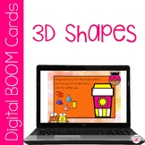 Math Describing 3D Shapes BOOM Cards for Distance Learning