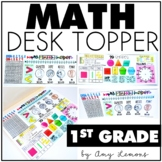 Math Desk Topper:  1st Grade