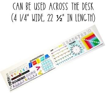 Math Desk Topper:  3rd Grade