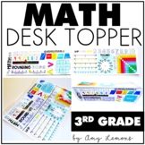 Math Desk Topper:  3rd Grade