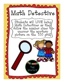 Math Detective! 100 Chart Mystery Pictures
