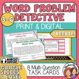 Word Problem Detective